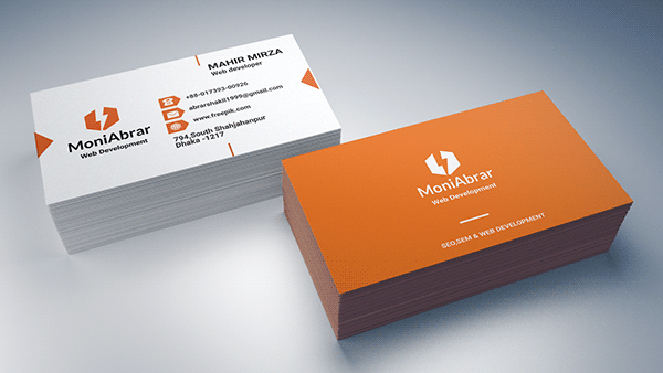 Corporate Business Card Professional Business Card