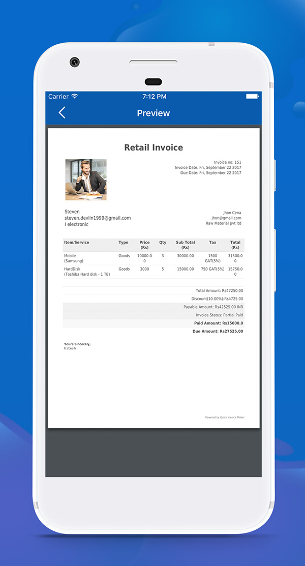 Quick Invoice Maker On Pantone Canvas Gallery - Quick invoice maker