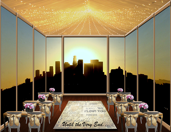 conceptual design wedding reception