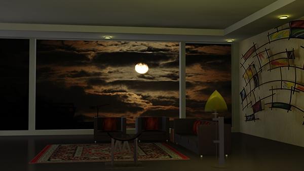 Room Modeling 3d design ( 3d modeling and 3d graphics ) on behance