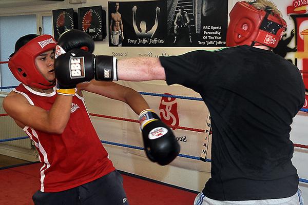 Amateur Boxing Gym 98