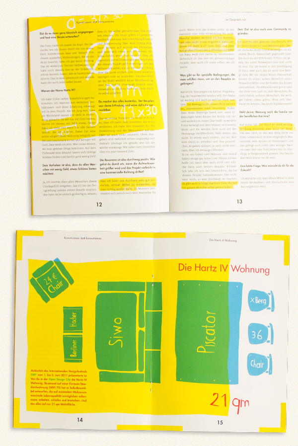 furniture DIY do it yourself magazine catalog illustrations color analog print