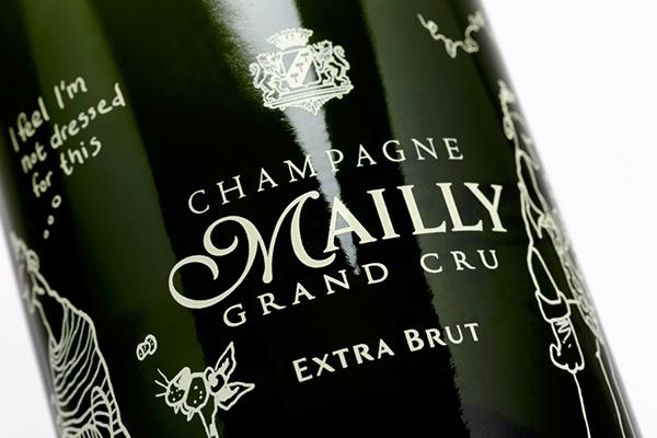 Mailly Champagne Fredrik Skavlan C'est La vie silk screen