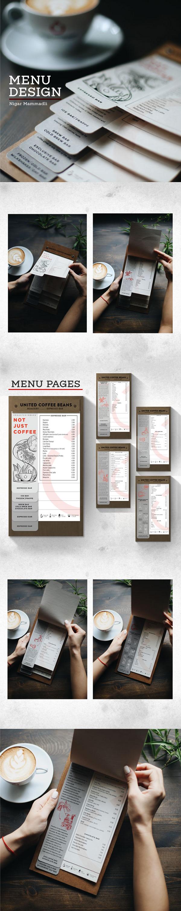 高質量的29款菜單設計範本欣賞