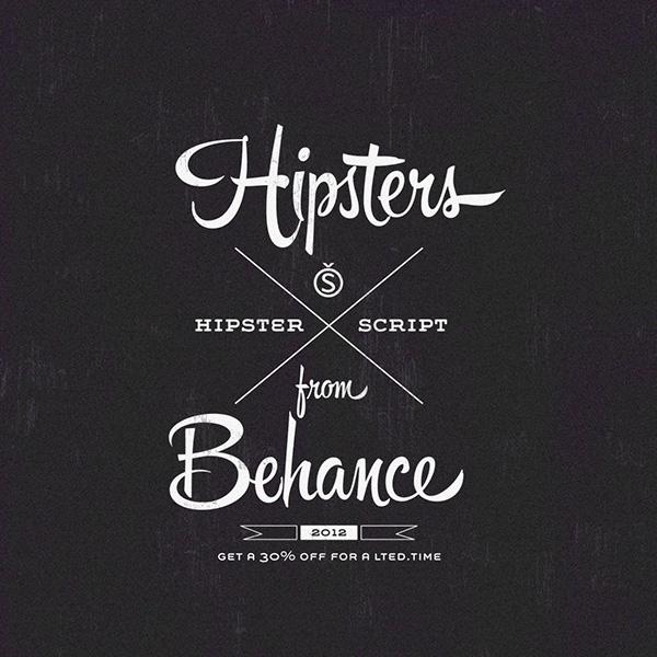 Hipster Script On Behance