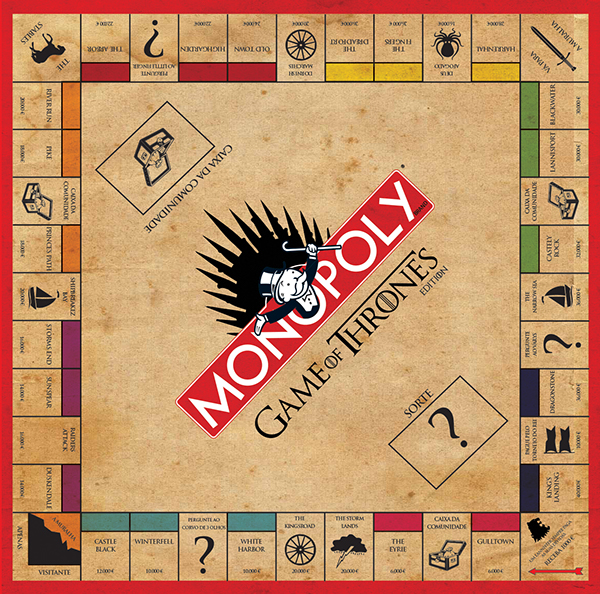 monopoly game of thrones edition on student show. Black Bedroom Furniture Sets. Home Design Ideas