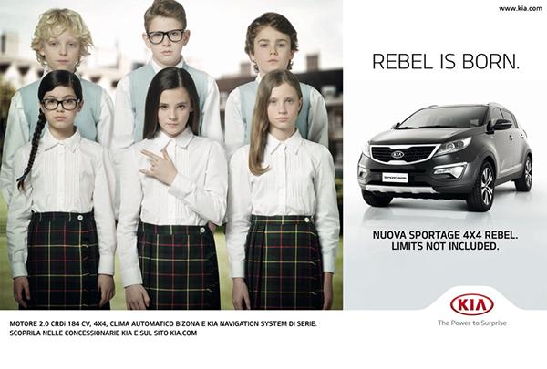 Suv Rebel sportage kia Schoolgirl