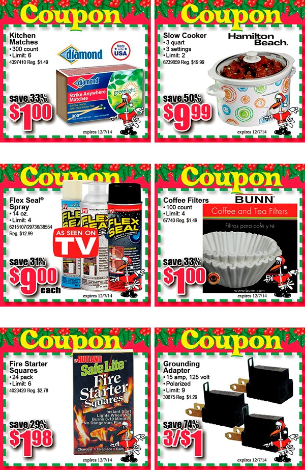 Holiday Savings Coupon Book 2014
