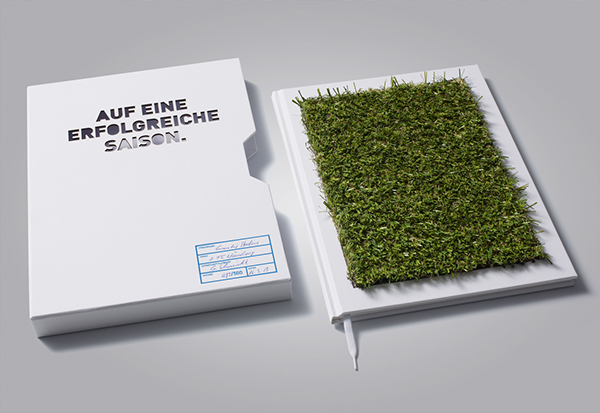 grundig book made out of football lawn brochure on behance. Black Bedroom Furniture Sets. Home Design Ideas
