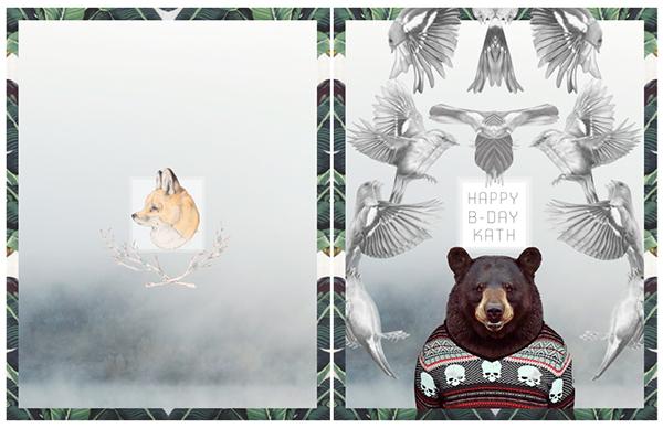 優質的24張生日卡片設計欣賞