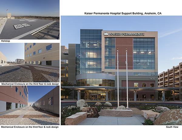 Kaiser Permanente Hospital Support Building Anaheim Ca On