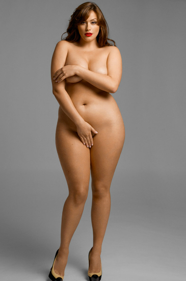 PLUS SIZE MODEL NUDE