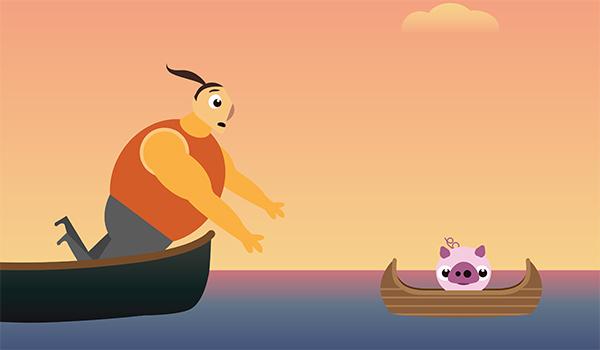 HAWAII honolulu pig diamond head Isaland ROASTED PIG luau