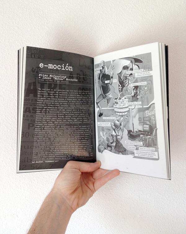 comic Gato Web @  b/n Isaacmahow   fancine girl digital revolucion Novela grafica art Colaboración