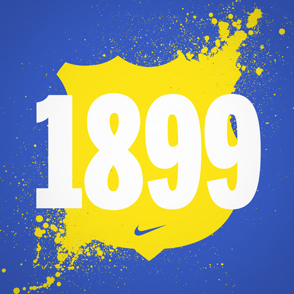Nike FC Barcelona Barca Futbol Club Barcelona football soccer SS11