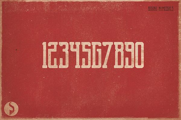 Display vintage Retro grunge font textured rough dirty Distressed serif hand drawn