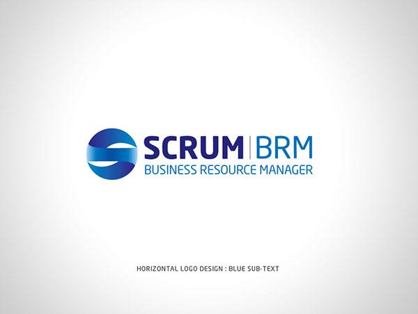Scrum Logo Scrum Brm Horizontal Logo