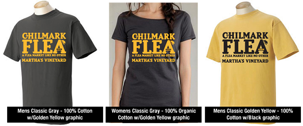 Chilmark Flea Market Chilmark Flea T-Shirts Chilmark Flea Tees