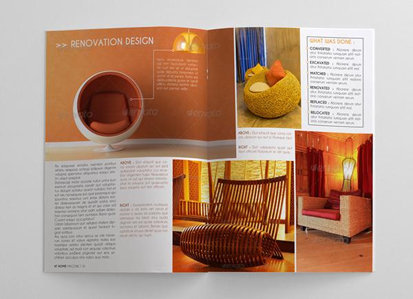 Interior Design Magazine Template On Behance