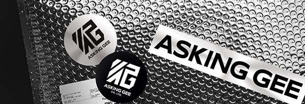 Asking Gee 問紀 Branding