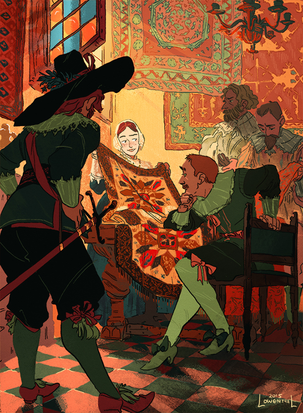 Character Design Jobs New York : The merchant s daughter on behance