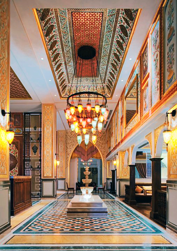 Dubai Jumeirah Zabeel Saray Interior Decoration On Behance