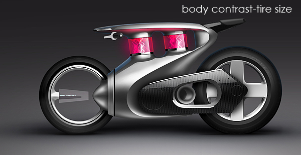 motorcycle Bike olivier Gamiette tutorial hot rod photoshop rendering making of how to Design story