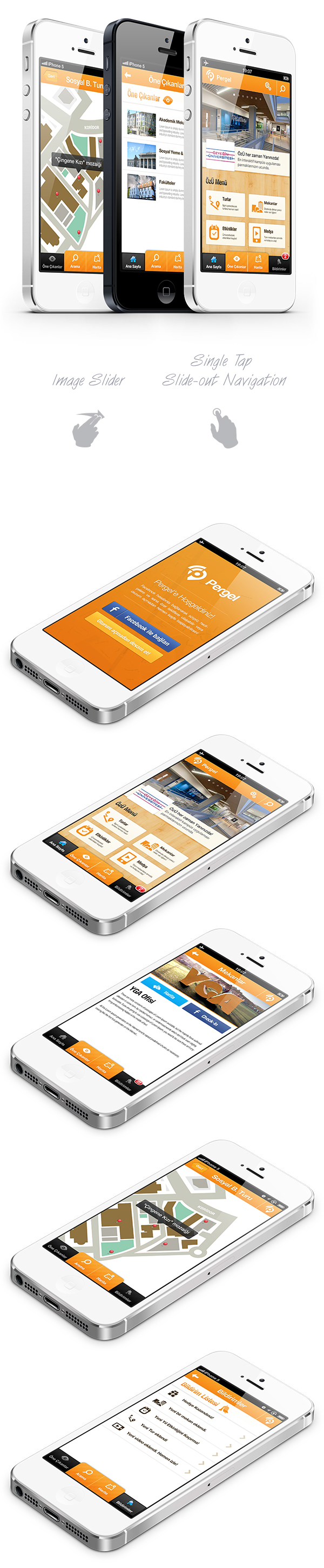 Indoor navigation iphone android app on app design served for Indoor navigation design