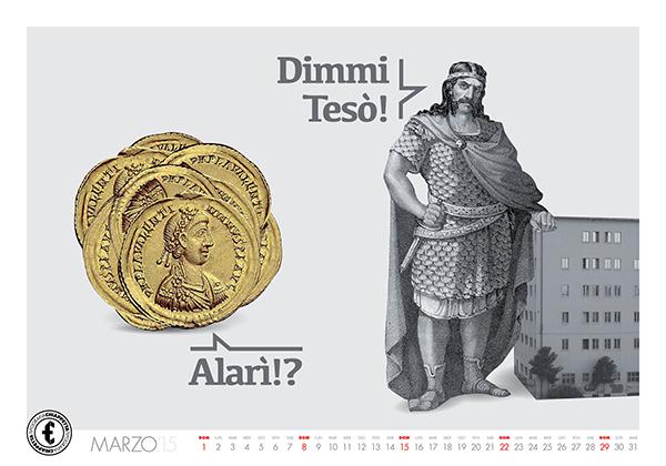 calendar chiappetta tipografia cosenza Collection type lettering slang wolf alarico Castle