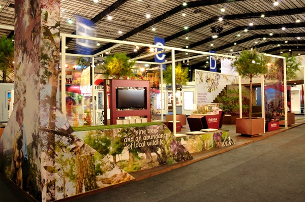 Exhibition Stand Nature : Beitmisk exhibition stand on behance