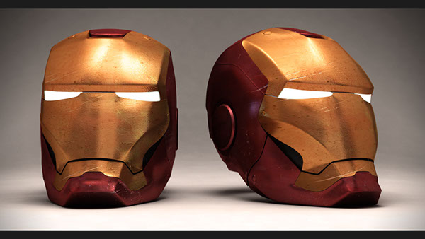 Iron Man Helmet 3d Model Iron Man Helmet 3d Model on