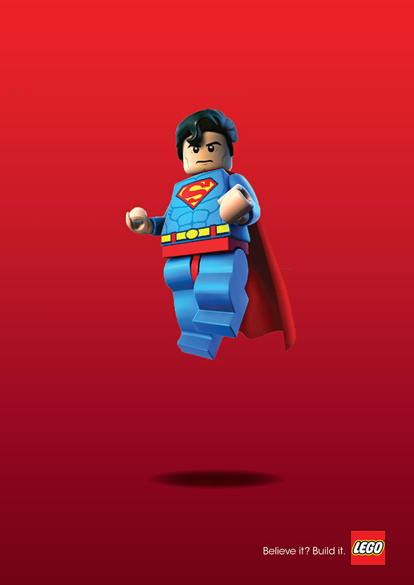 Lego print ad on behance for Lego ads tejasakulsin