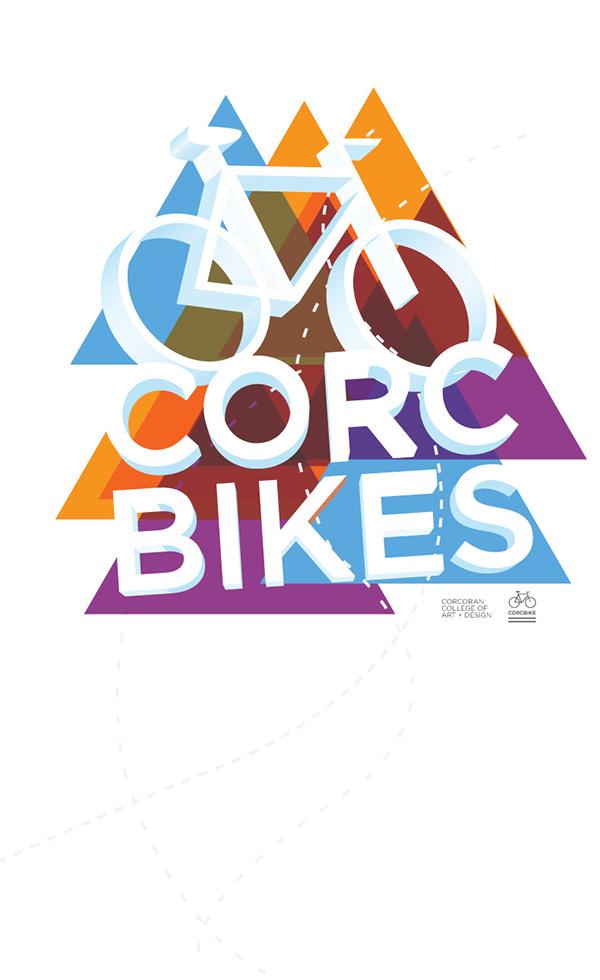 Bike line Geometric Shapes