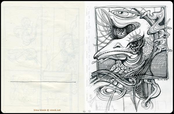 moleskine sketchbook sketch