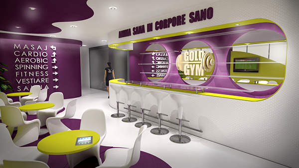 Gold Gym on Behance