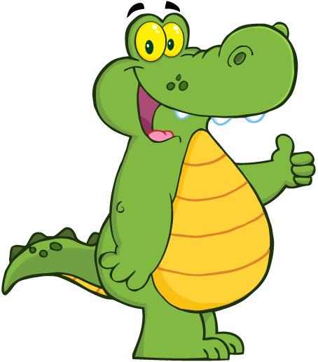 Crocodile Cartoon Mascot Character on Behance - photo#40