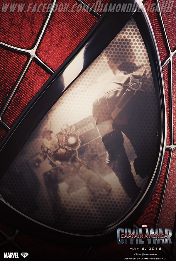 Captain America Civil War Fan Made Poster On Behance