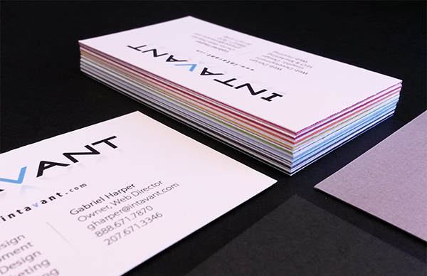 Hand Layered Business Card Design on Behance