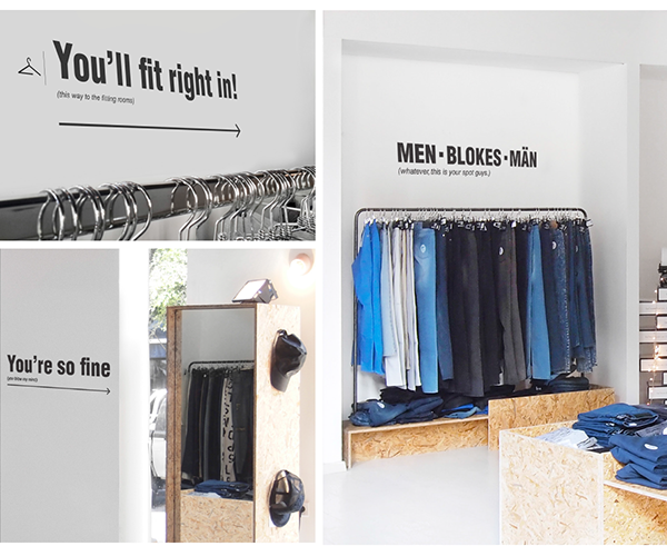 Cheap Monday Pop Up Store On Pantone Canvas Gallery
