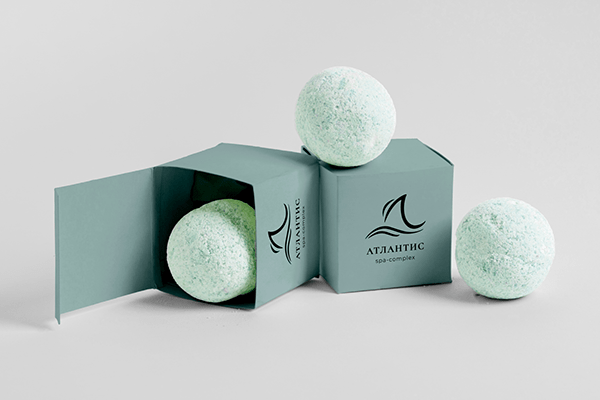 Logotype for a comfortable SPA-complex