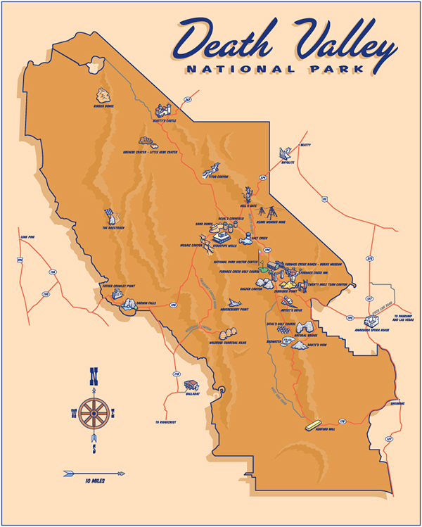 Dafi United States Map Showing Yellowstone National Park - Yellowstone map us