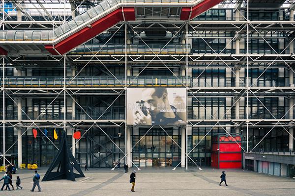 parigi-ville lumiere-centre pompidou