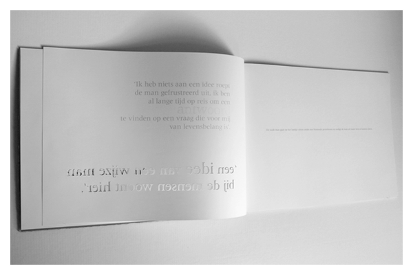 Experimental Book by Roger Huskens
