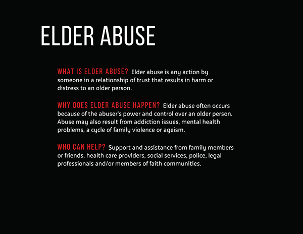 why elder abuse why Why people abuse is this abuse people abuse their partners because they believe they have the right to control the person they're dating maybe the abusive partner thinks they know best maybe they believe that they should be in charge in the relationship.
