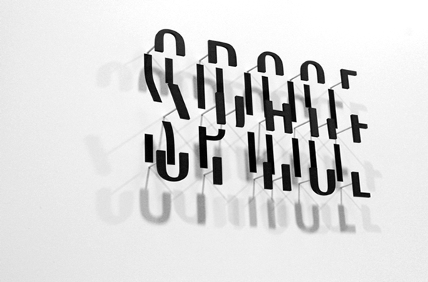 Shadow Play On Typography Served