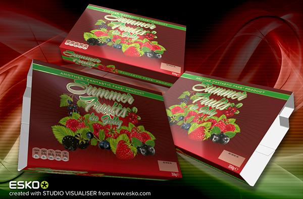 ESKO & Illustrator Packaging Visuals on Behance