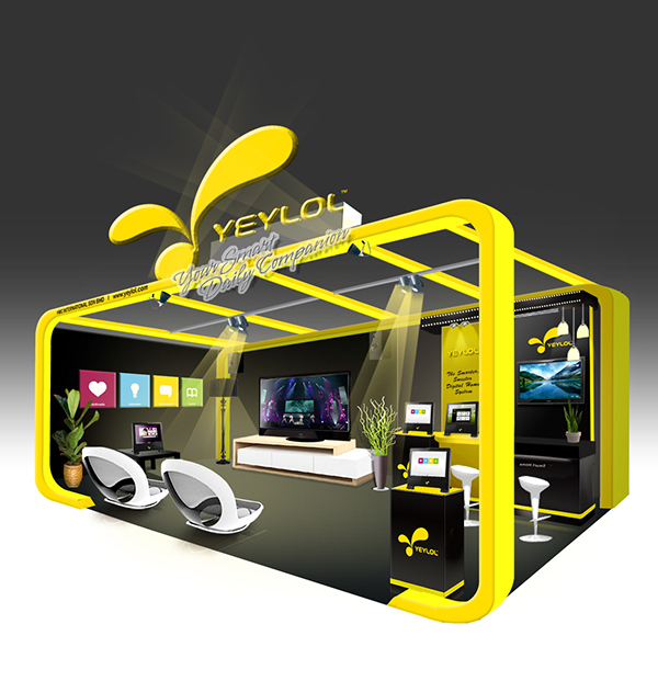 Exhibition Booth Design Concept : Exhibition booth design on behance