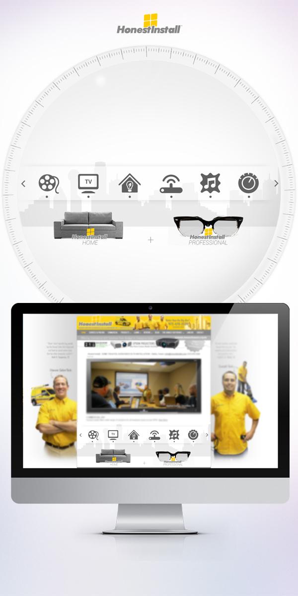 banner design yellow honest Constantin angelov Web