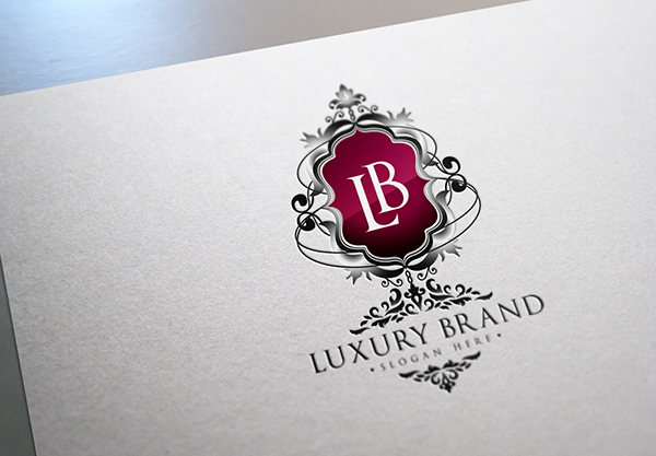 LuxuryBrand Logo Template on Behance