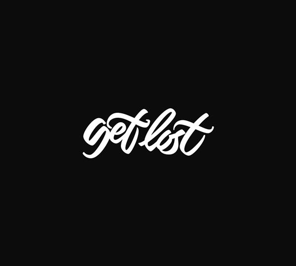 logo lettering t-shirt design brush modern Urban Free style typo Typeface